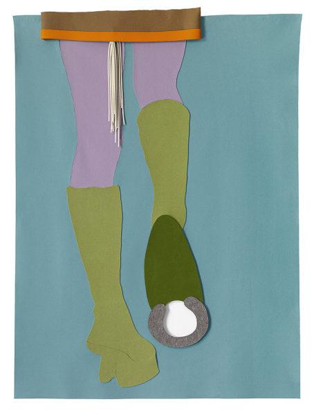 "Thomas Grünfeld, ""Ponygirl"", Filz, copyright Galerie Haas 2010"