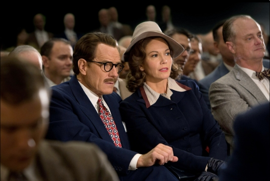 Could not have been cast better: Bryan Cranston as Dalton Trumbo, Diane Lane as his wife Cleo.©Bleecker Street Media